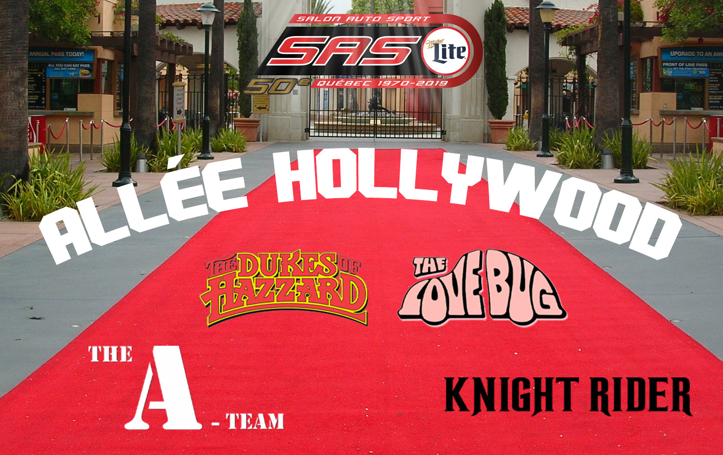 Hollywood Alley: Sport Auto Show's red carpet!